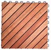 Wooden Patio Deck Tiles Snap Together Tiles