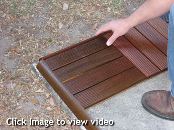 How to order and install patio deck tiles diy patio deck installation solutioingenieria Gallery